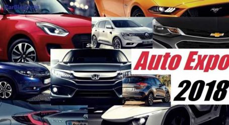 Auto expo-2018 to be a treat for connoisseurs