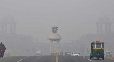 Delhi witness misty, cold winter morning