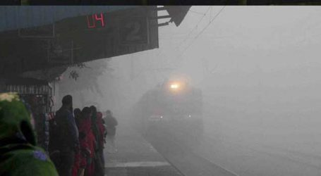 Thick fog envelops Delhi, 38 trains delayed, 15 cancelled