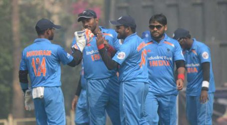 Blind Cricket World Cup: India thrash Nepal by 8 wickets