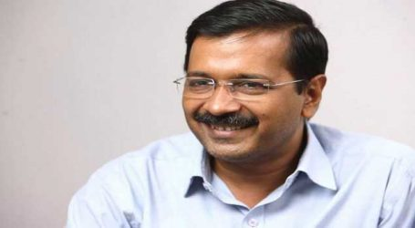 Kejriwal inaugurates sewer line project in Najafgarh