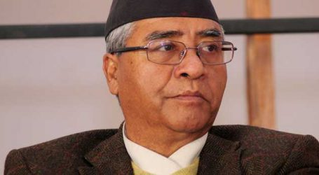 Nepal PM Sher Bahadur Deuba greets India on Republic Day
