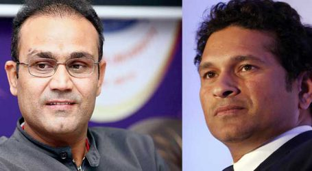 Sachin and Sehwag applauded ICC U-19 Indian team on twitter for beating Pakistan to enter finals