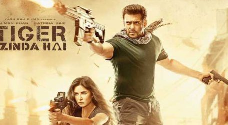 Tiger Zinda hai is Salman's highest grosser with earnings of Rs 322.57 cr