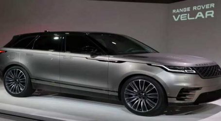 Land Rover Launches the New Range Rover Velar In India for Rs 78.83 lakh