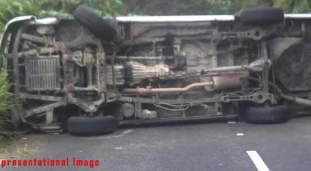 30 pilgrims injured as bus overturns in Varanasi