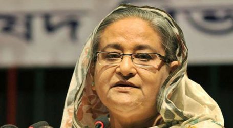 Bangladesh PM leaves for Italy