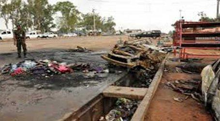 Suicide bombing kills 22 in Nigeria