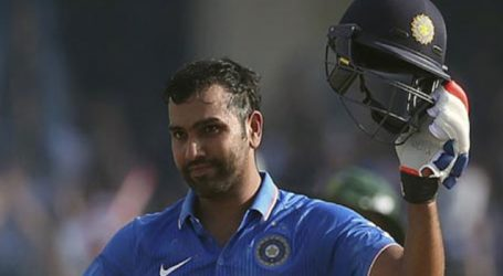 5th ODI: Rohit's century helps India to finish at 274-7