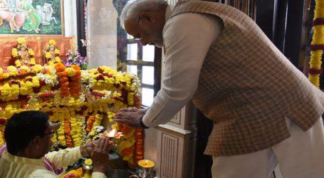 PM Modi greets people on Mahashivratri