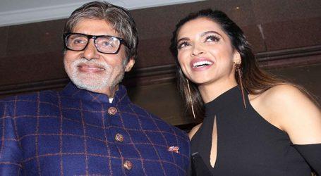 Deepika Padukone gets 'reward' from onscreen 'baba' Amitabh
