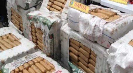 Over 540 kg ganja seized, 2 held in Delhi