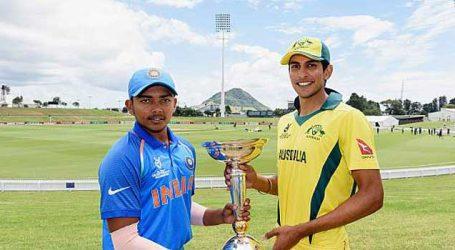 ICC U19 World Cup: Australia opts to bat after winning toss