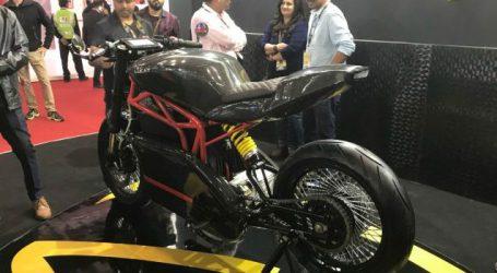Menza Motors unveils electric motorcycle Menza Lucat