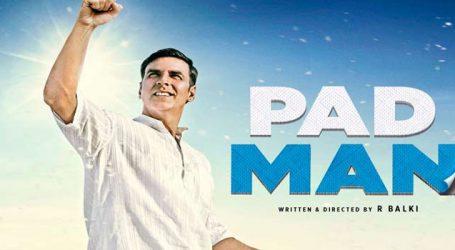 'Padman' earns over Rs 100 cr worldwide in opening weekend