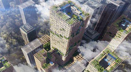 Japan plan to build world's tallest wooden skyscraper