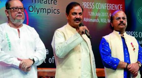 India to host 8th Theatre Olympics