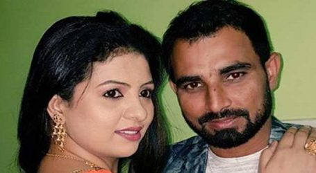 Wife Hasin Jahan flies to New Delhi to see injured Indian pacer Md Shami