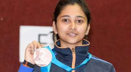 India's Manu Bhaker wins Gold at ISSF World Cup