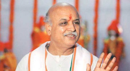 Pravin Togadia on indefinite fast from today