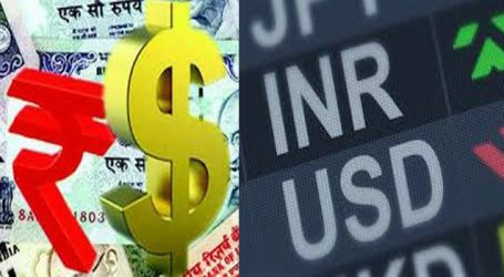 Rupee falls by 5 paise against USD