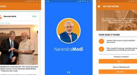 PM Modi interacts with BJP MPs, MLAs through Narendra Modi App