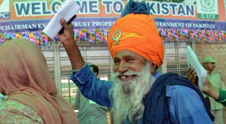 Sikh pilgrims take part in Baisakhi festivities in Pakistan