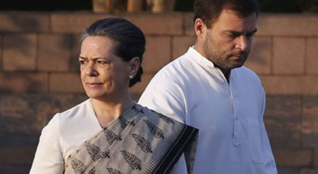 Sonia, Rahul join opposition protest in Parliament on various issues
