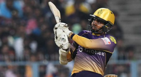 Sunil Narine slammed a quick-fire fifty to help KKR beat RCB by four wickets at Eden Garden