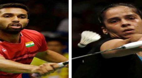 Badminton Asia C'ships: Saina, Prannoy crash out in semis