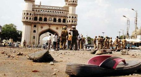Accused in Mecca Masjid blast case acquitted