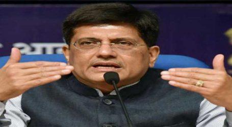 BJP rises to defence of Piyush Goyal