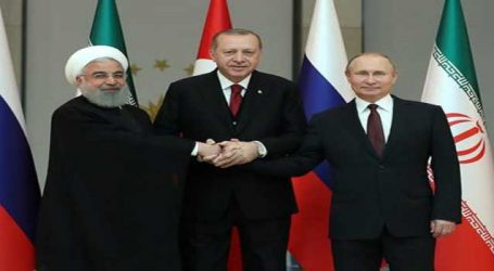 Turkey, Iran, Russia need to work with U.N. for Syria solution -Turkish FM