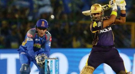 KKR moved to third spot after beating Rajasthan Royals by 6 wickets at Eden Gardens