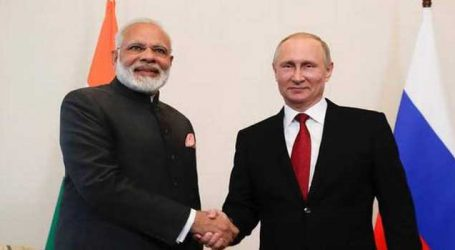 Talks with Prez Putin will strengthen Privileged Strategic Partnership b/w India, Russia: PM