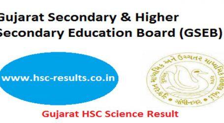 GSEB Gujarat Board Class 12 exam Results 2018 declared, Girls outshine boys