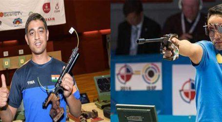 ISSF world rankings: Shahzar Rizvi, Jitu Rai secure place in top-10