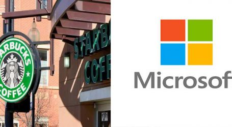 Starbucks teams up with Microsoft to upgrade its delivery system