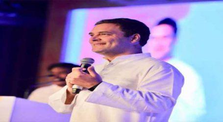 Rahul welcomes first-time voters in Karnataka