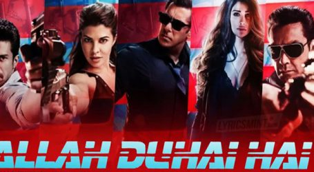 'Race 3's theme song 'Allah Duhai Hai' to be launched in 3D