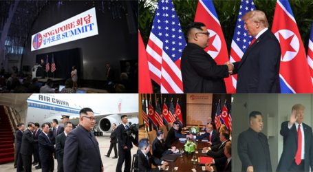 Trump and Kimmeeting from Handshake to Private Meeting, bilateral talks starts