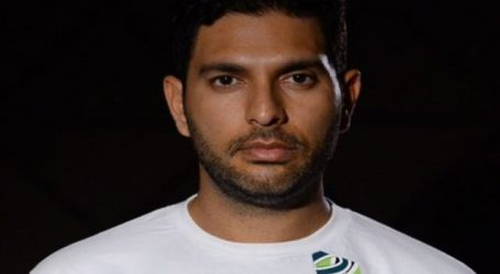 Yuvraj launches his sports brand YWC in Hyderabad