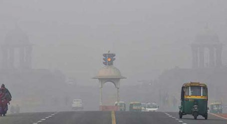 Delhi witness misty, cold winter morning