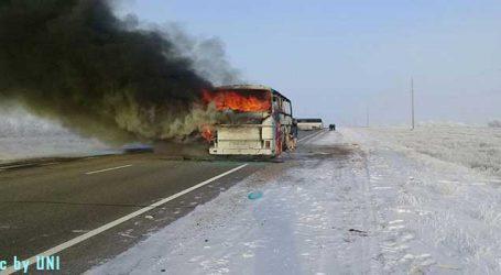 Kazakhstan bus blaze kills 52 Uzbek citizens