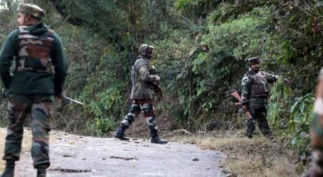 J&K: Encounter between terrorists and security forces in Budgam