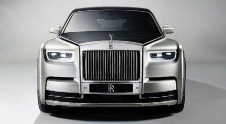 Rolls-Royce launches Phantom