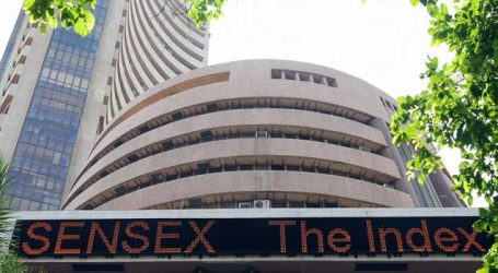Sensex down over 100 pts