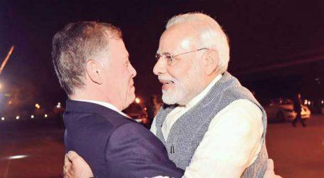 India, Jordan renew support for Palestine: Modi, King favour moderate Islam