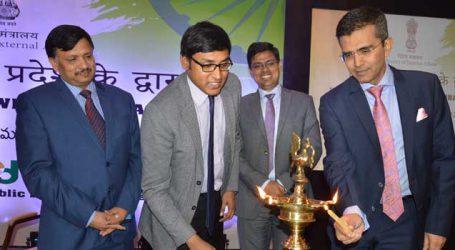 MEA launches Videsh Aaya Pradesh ke Dwaar in Hyderabad