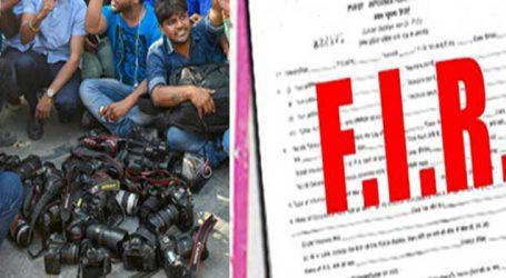 FIR against SHO for manhandling woman journalist